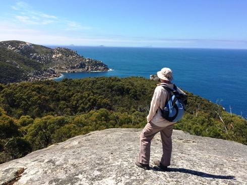 Útközben Ausztrália Legdélebbi Pontjához, valahol az utolsó 3,7 km-es szakaszon