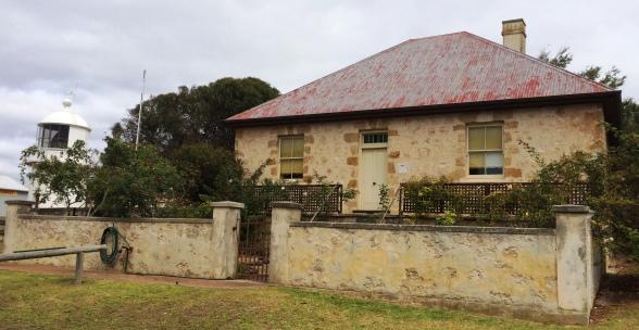 Az 1859-ben épült Hope Cottage, ahol az első európai telepesek laktak