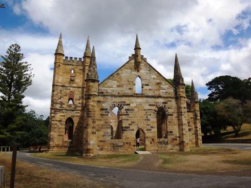 Port Arthur fegyenctelep, a templom