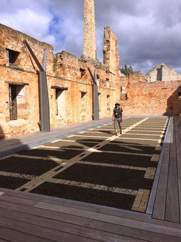 Port Arthur fegyenctelep, akkorák voltak a cellák