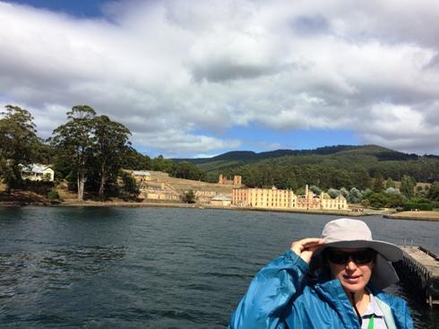 Port Arthur a vízről nézve