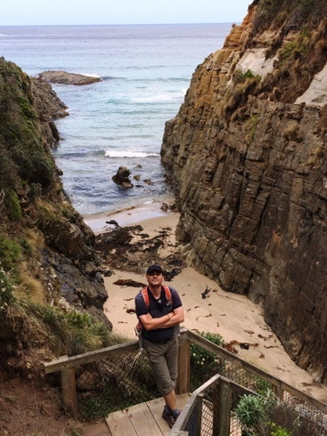 útban a tengeri barlanghoz