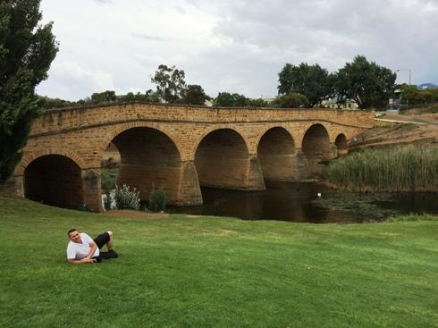 Ausztrália legöregebb hídja, 1823.