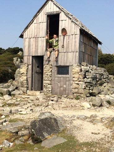 Kitchen Hut, az utolsó pihenő a csúcs előtt
