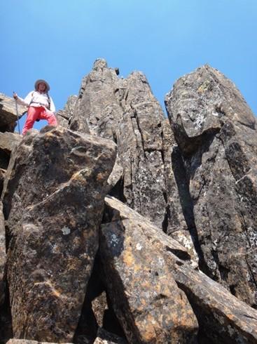 """innen szikláról-sziklára """"ugráltunk"""""""