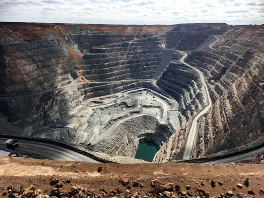 Kalgoorlie, a külszíni bánya