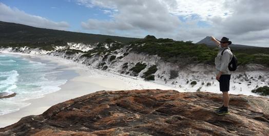 Thistle Cove, Papi mutatja hogy hova mászunk fel (Frenchman Peak)