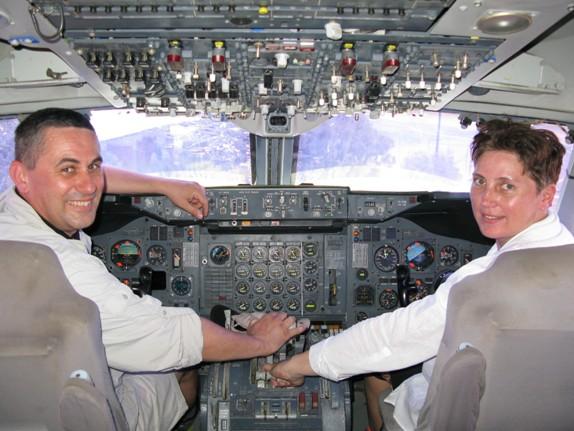 Papi a pilóta, én a másodpilóta