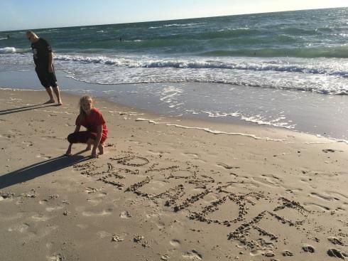 Az érkezés napján, Henley Beach