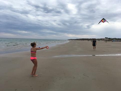 Silver Sands Beach, sárkányeregetés