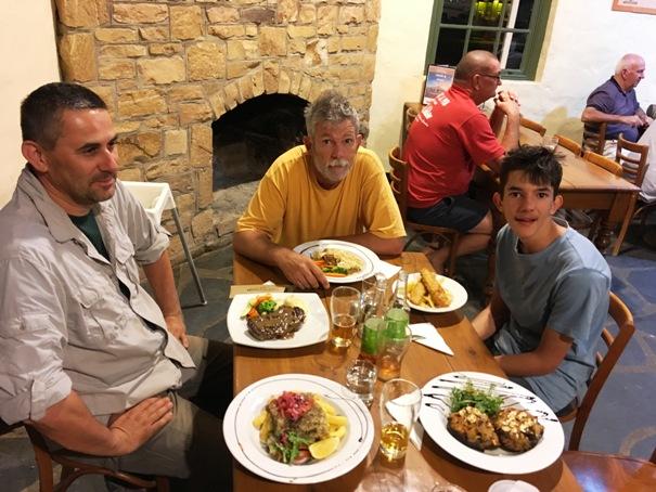 A vacsoránk